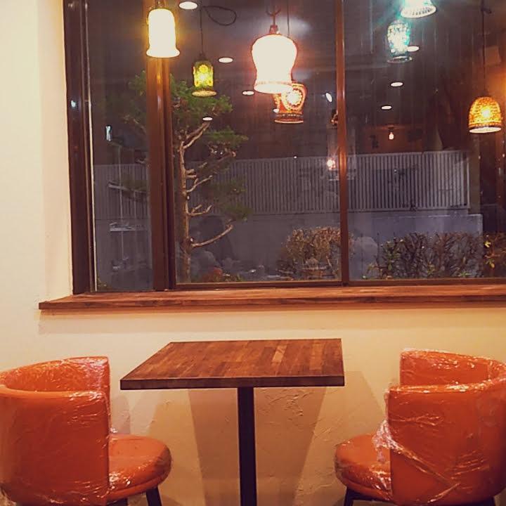 cafeテーブル